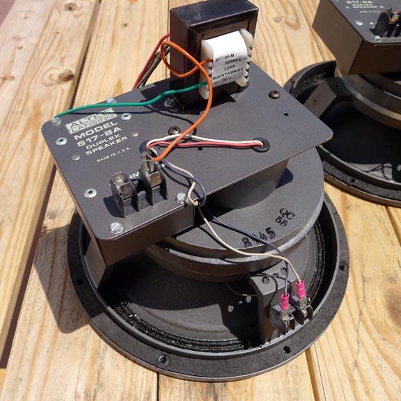 altec 617-8a speakers pdf